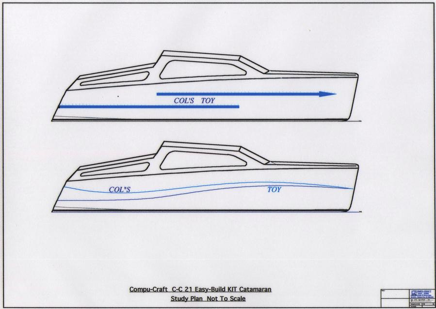 C-C 21 Trailer Sailer Catamaran