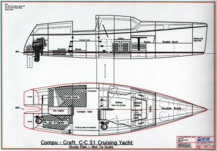 C-C 31 Trailable Yacht001