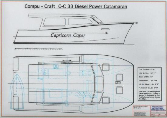 C-C 33 Power Catamaran