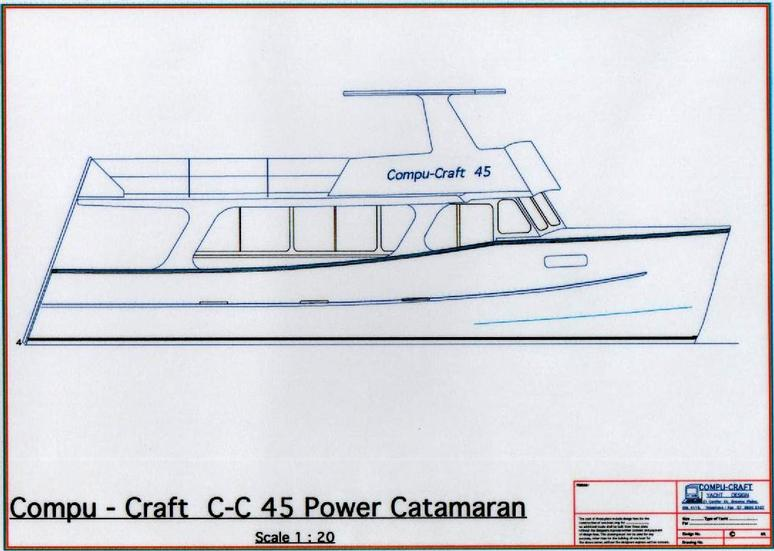 C-C 45 Power Catamaran