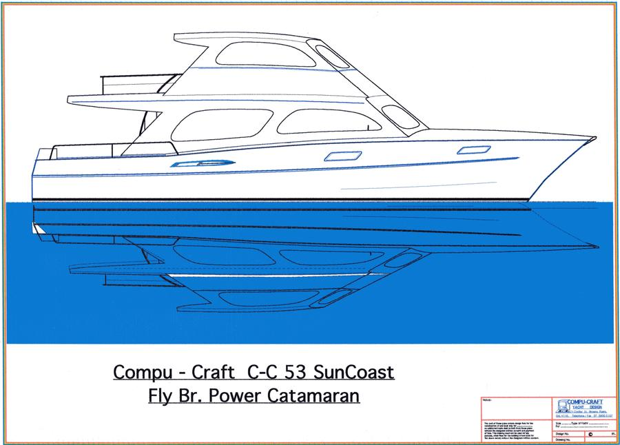 C-C 53 SunCoast Power Cat