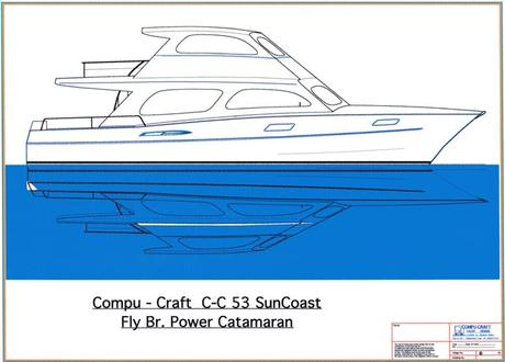C-C 53 SunCoast Power Cat Small