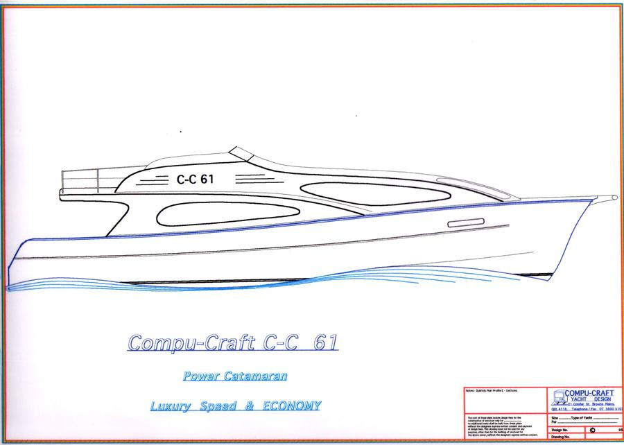 C-C 61 Power Catamaran Cropped