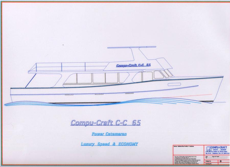 C-C 65 Power Catamaran Enhansed